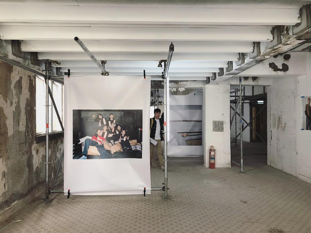 2/F Photo Show Space from BE THERE - Design Festival in Sham Shui Po by dtby_, Ron Wan, and Mildred Cheng.