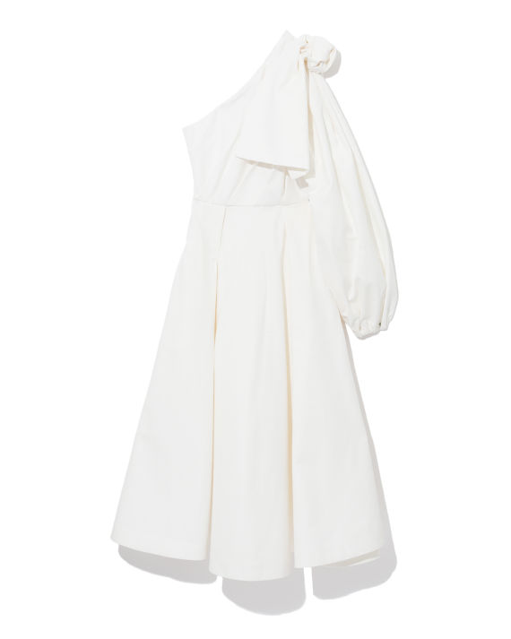 Ron Wan with ANOUKI white dress online only at I.T eSHOP.