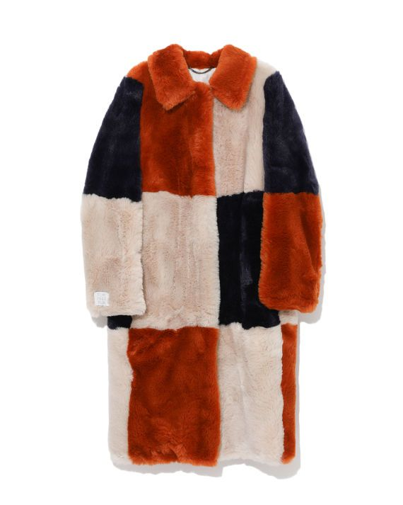 Ron Wan with Stella McCartney fure-free coat only at I.T eSHOP.