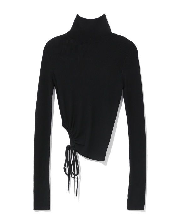 Ron Wan with Alexander Wang black shirt online only at I.T eSHOP.