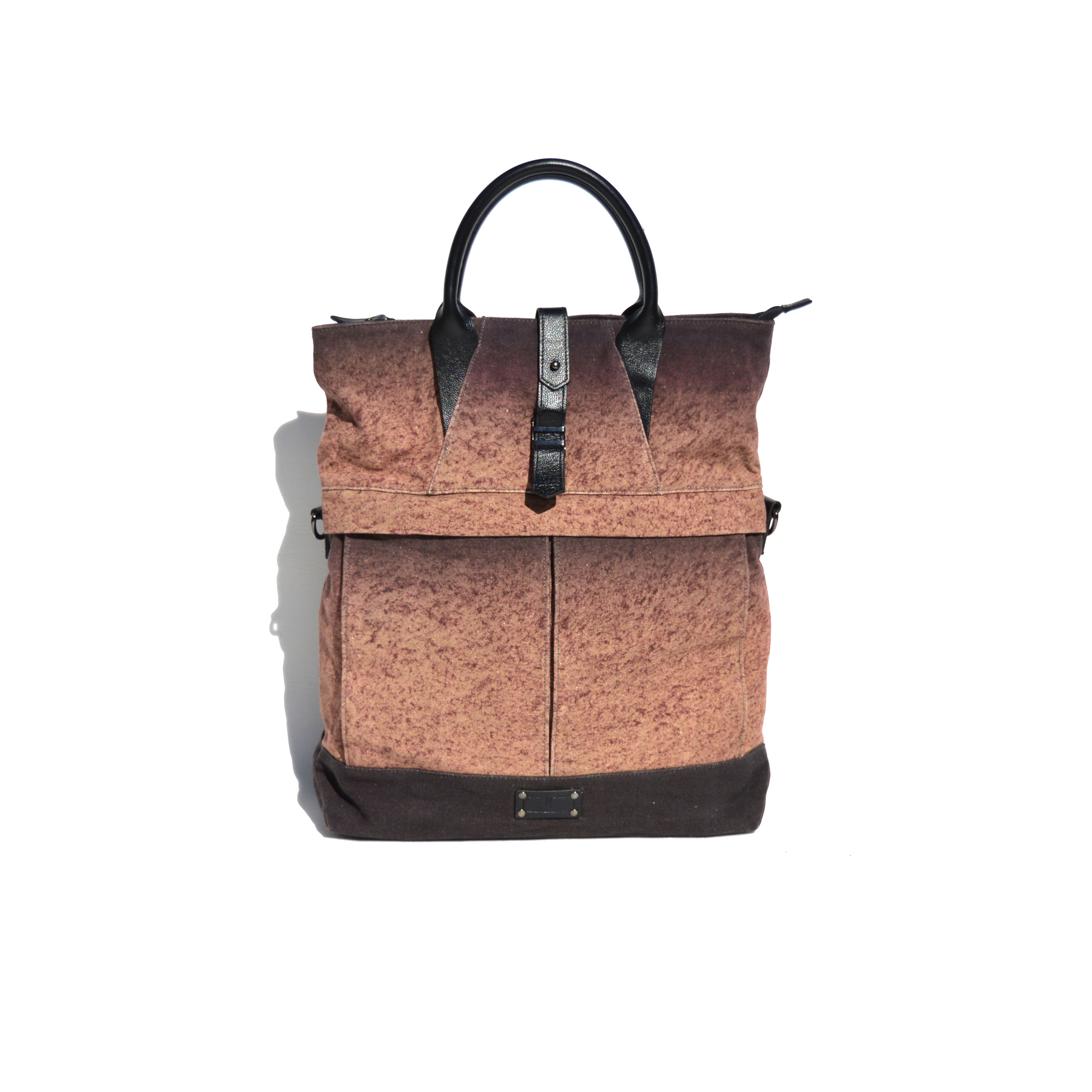 Ron Wan: Fashion collaboration with menswear label Krane Design on an Ombre bag collection