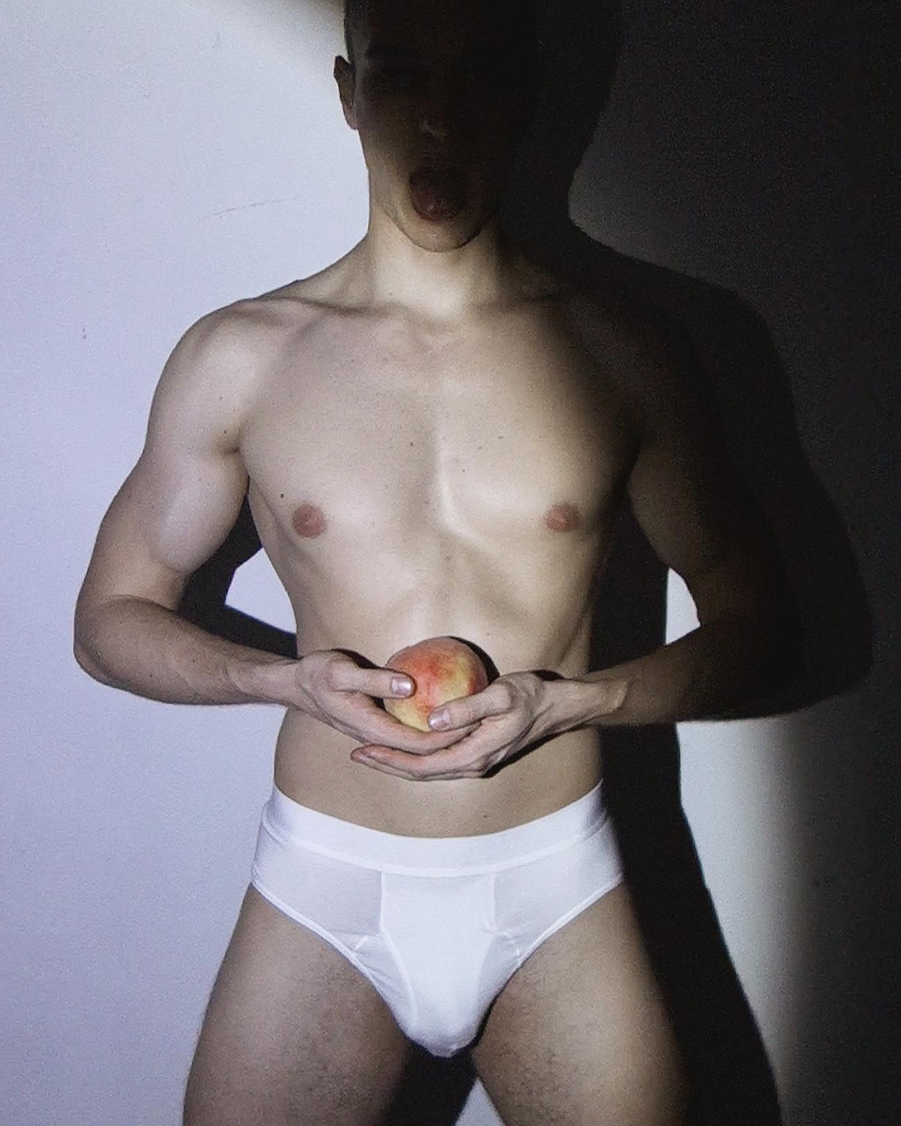 Ron Wan photographing Dmitrii B from Quest Artist in Sheung Wan, Hong Kong.