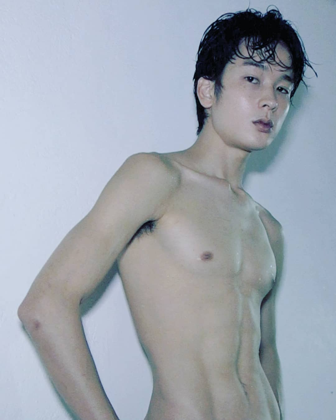 Shun Yamazaki 山崎俊 from Velbed Models Tokyo shot by Ron Wan in Hong Kong