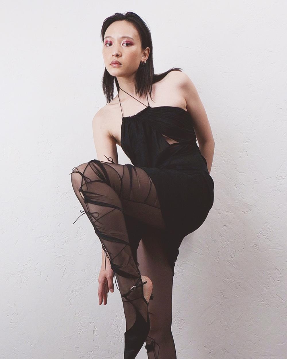 Ron Wan for JOYCE Spot Hong Kong Featuring Nesi Dojaka Womenswear