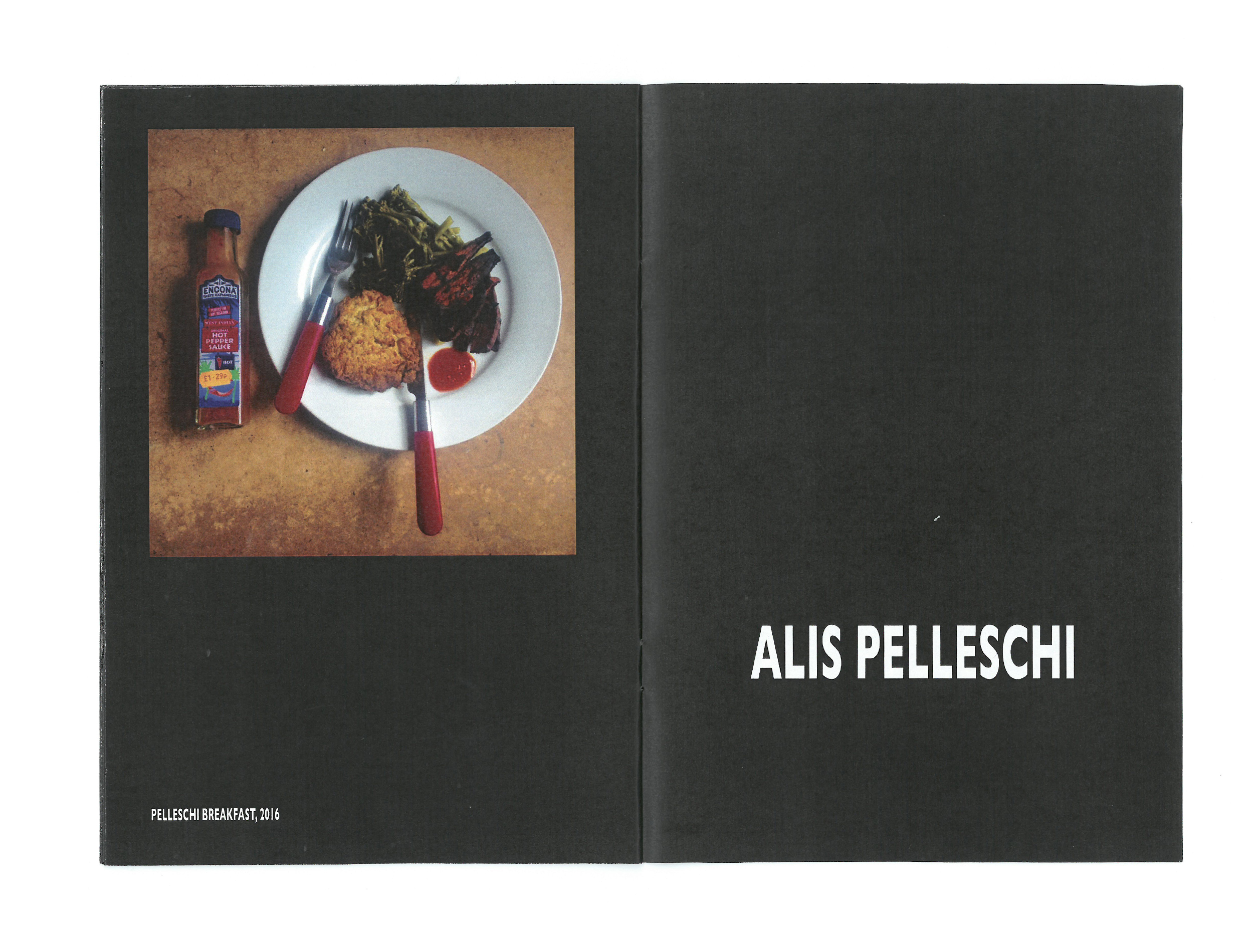 Time Zine: Breakfasttime with Alis Pelleschi featuring Breakfast, 2016