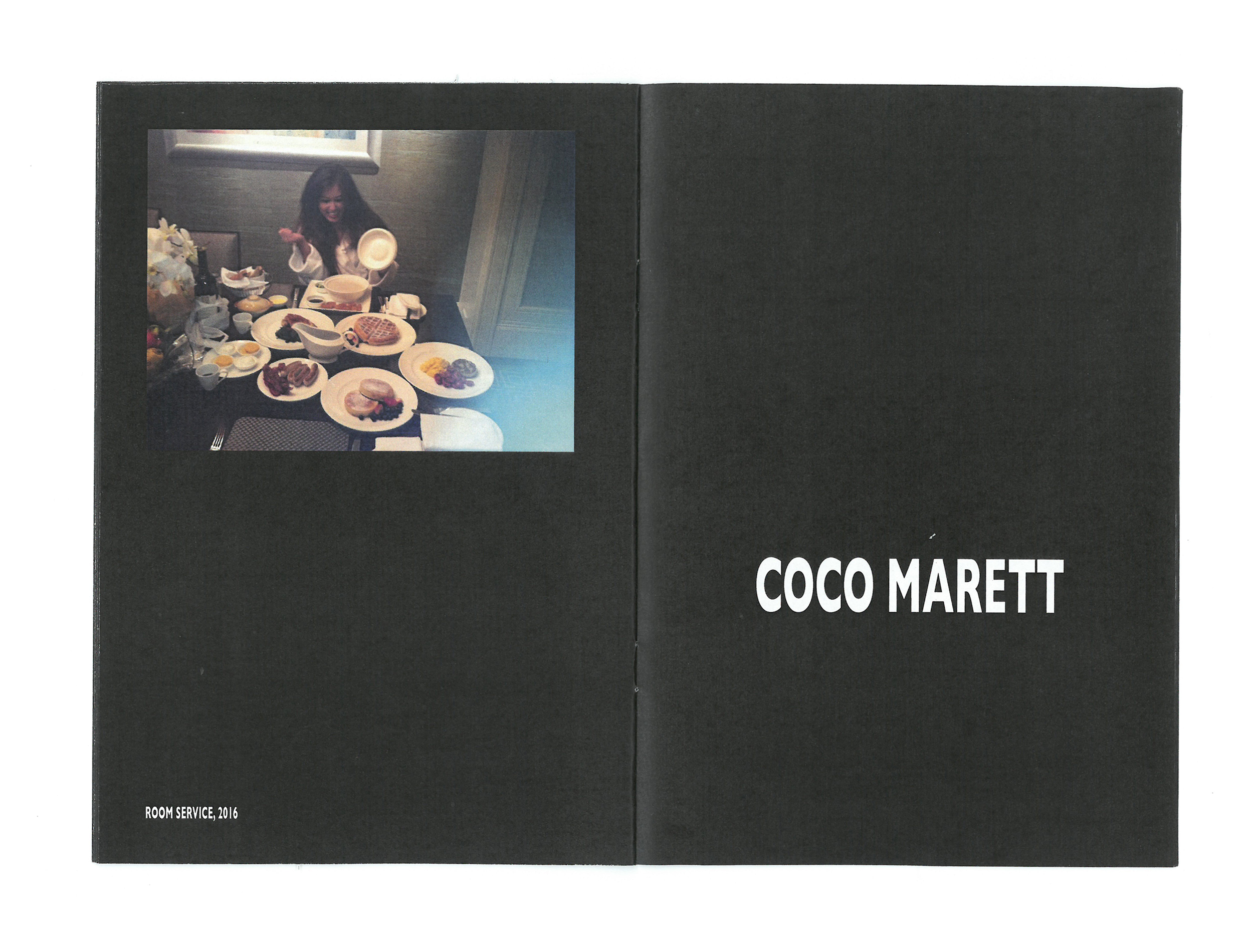 Time Zine: Breakfasttime with Coco Marett featuring Room Service, 2016