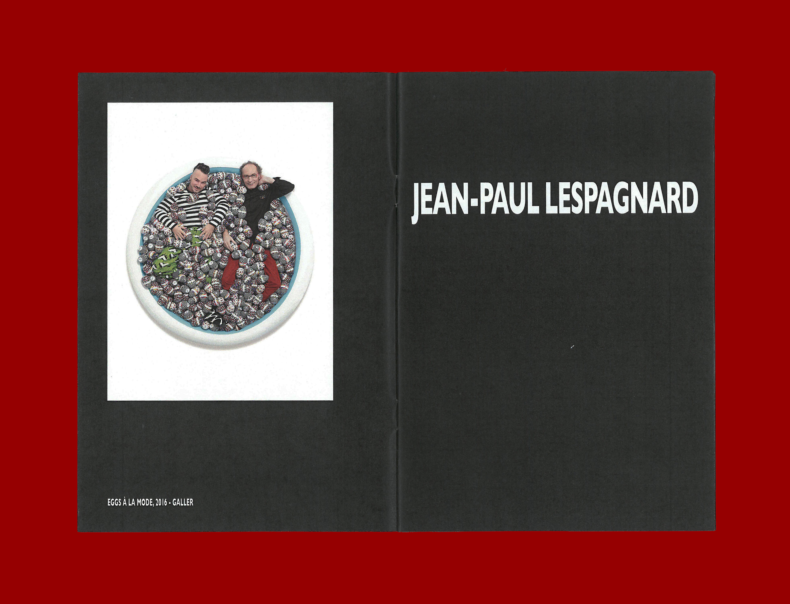 Printed Matter by Ron Wan. Fanzine: Breakfasttime, feautring Eggs A La Mode by Jean-Paul Lespagnard with Galler
