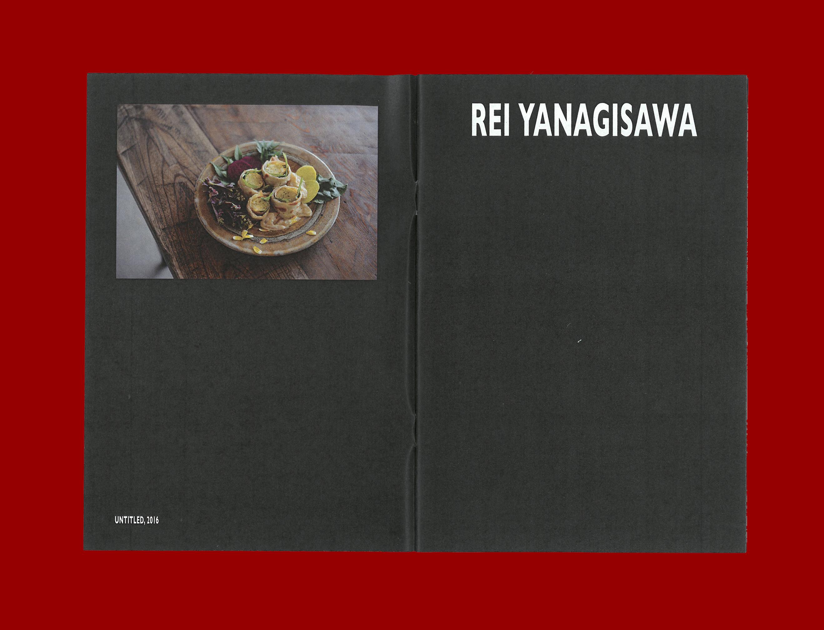 Printed Matter by Ron Wan. Fanzine: Breakfasttime, feautring Untitled 2016 by by Rei Yanagisawa