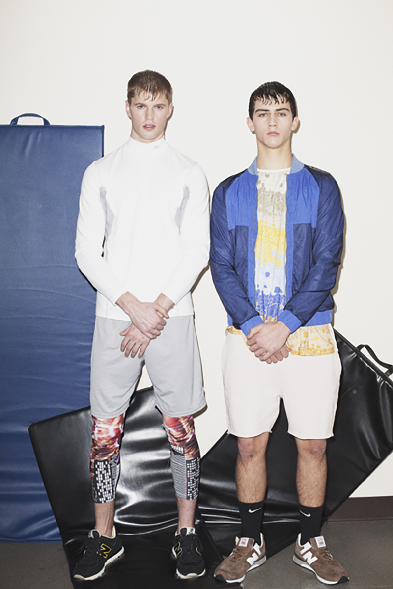 Sean Nicole and Jeremie at Elmer Olsen Models by Ron Wan, Bobby Bowen, Wally Sparks, and Patrick Rahme