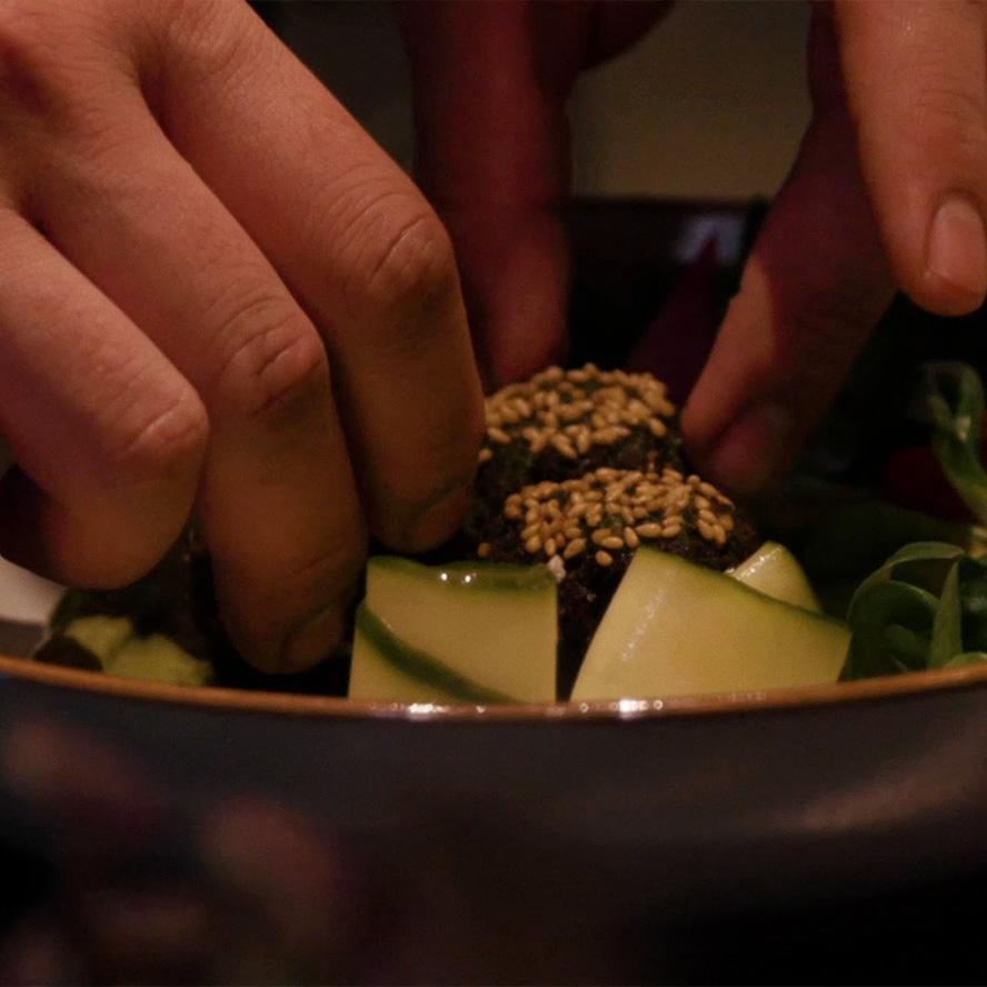 Head Chef Alfonso Cocinero refined options at ACME Hong Kong