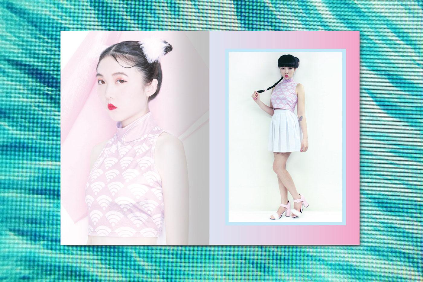 Ron Wan: WEEGIRLSCLUB featuring Ruby Gloom, Reni Kowk, Emeraldd, Mau Kai Chau, Elton 5wk, LeLe Cheung, and Koleman Chan