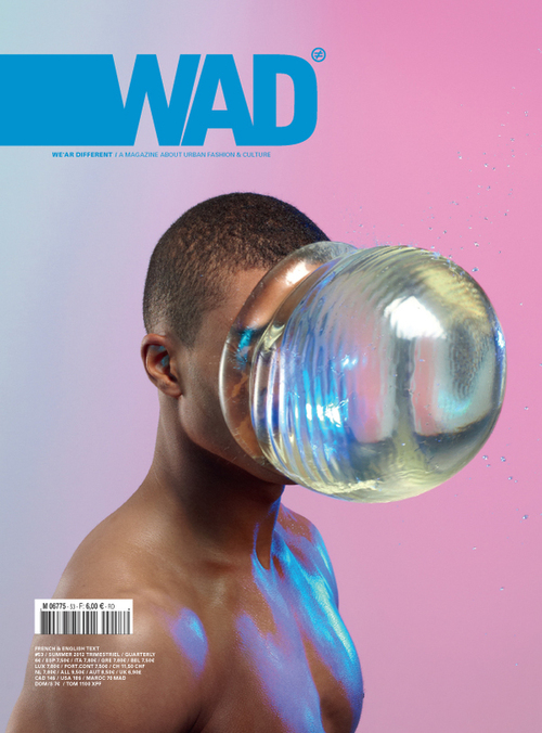 Ron Wan: WAD Magazine from Paris, France. Design Clippings, Dention and Features