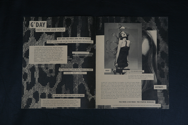 CUT PASTE REWORK by Ron Wan, graphic design fanzine