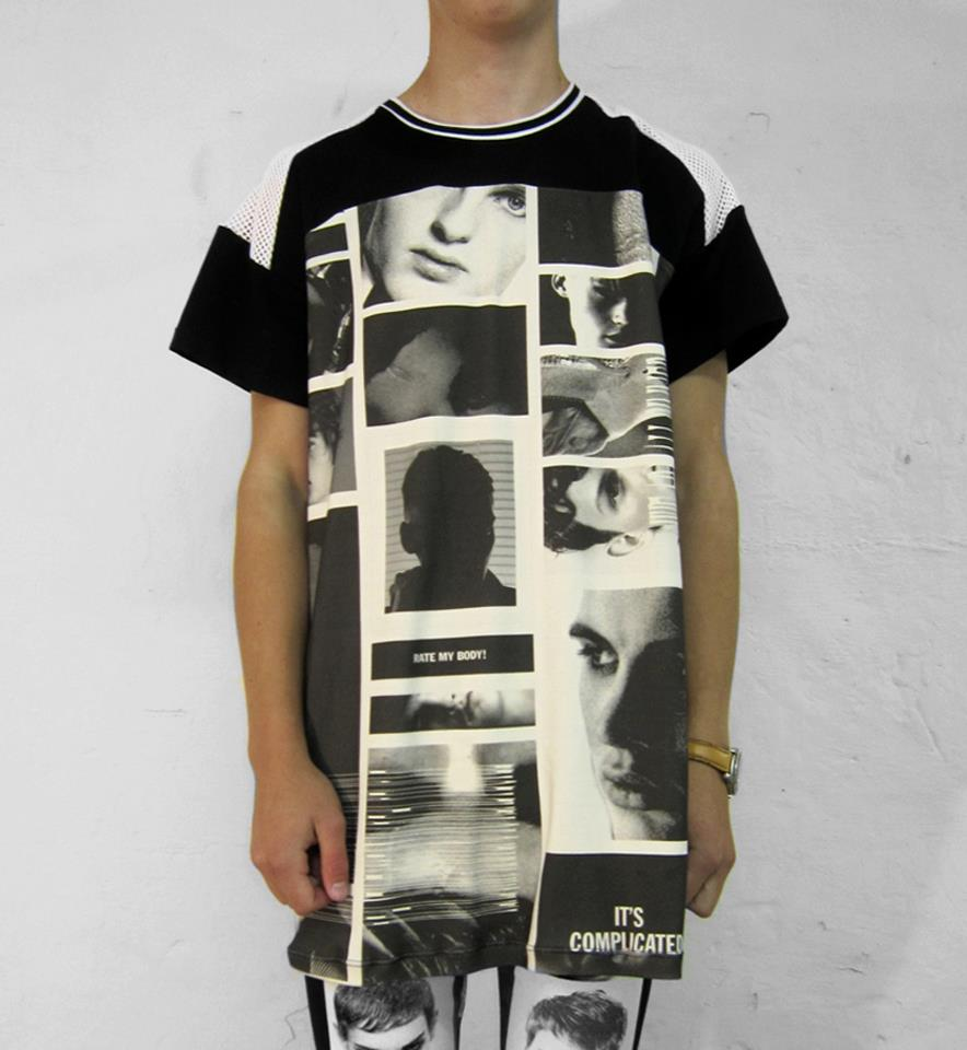 Ron Wan: Fashion collaboration with Rene Gurskov Spring/Summer inspired by Tumblr and internet boys around the world